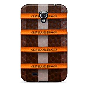 Samsung Galaxy S4 DZH25892AuBy Provide Private Custom High-definition Cleveland Browns Image Shock Absorbent Cell-phone Hard Covers -IanJoeyPatricia