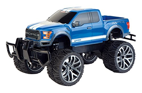 Carrera 1:14 Ford F-150 Raptor 2,4 GHz D/P Race Track, Blue