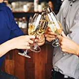 Personalized Champagne Flute Glass - Bridesmaid