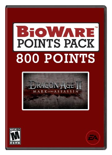 BioWare Points 800 Mark of the Assassin [Online Game Code]