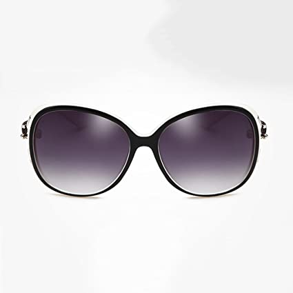 NUBAO Gafas De Sol Mujer Cara Redonda Gran Caja Gafas Polarizadas Cómodas Cara Larga Gafas De