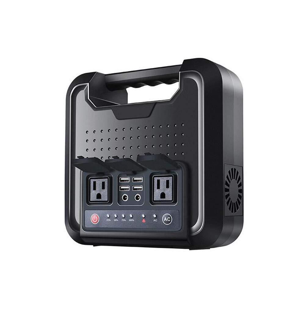 DMQNA Central Eléctrica Portátil, Generador Solar Portátil Inversor De Energía 220 V/Salida USB Cargada por El Panel Solar/Toma De Pared para Acampar, Respaldo De Emergencia