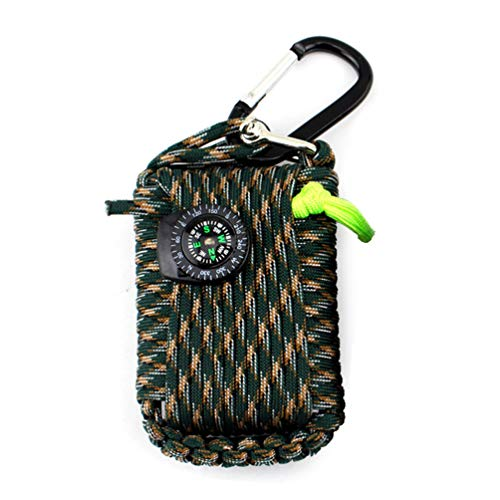 ZSTVIVA Outdoor Lifesaving Bag 29 in 1 Multifunctional Survi