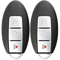 KeylessOption Keyless Entry Remote Control Car Smart Key Fob Replacement for Rogue KR5S180144106 (Pack of 2)