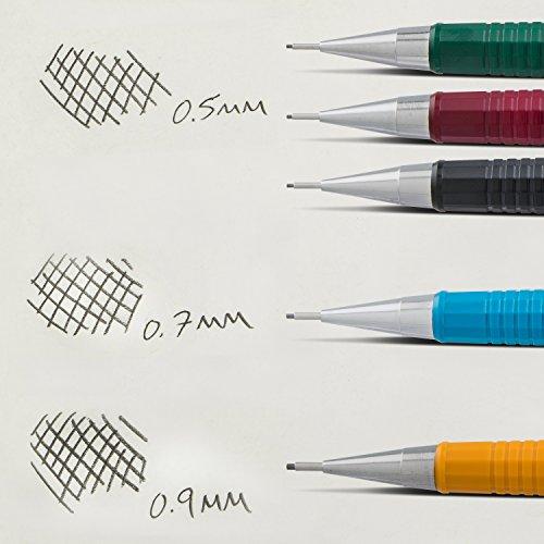 Pentel Sharp Automatic Pencil, 0.7mm Lead Size, Blue Barrel, Box of 12 (P207C) by Pentel (Image #8)