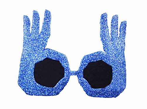 Funny Party Glasses OK Gesture Finger Glasses Party Supply - Sunglasses Ok
