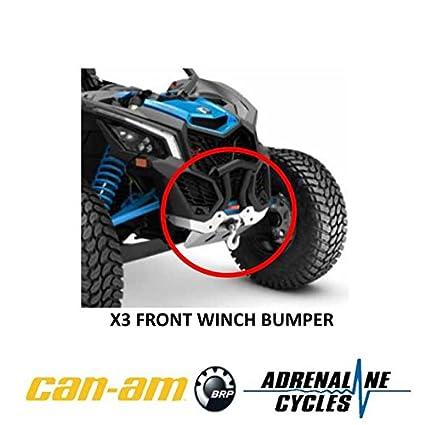Amazon com: Can Am Maverick X3 XRC XMR front bumper BLACK OEM NEW