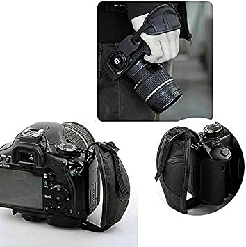 Hand Grip Soft PU Leather Wrist Strap for Nikon//Canon//Sony Camera Durable