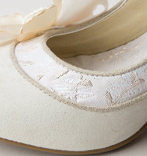 Ruby Shoo Madelaine - Cream/Gold