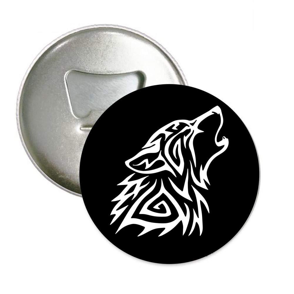 Tribal Be a Wolf Bottle Opener