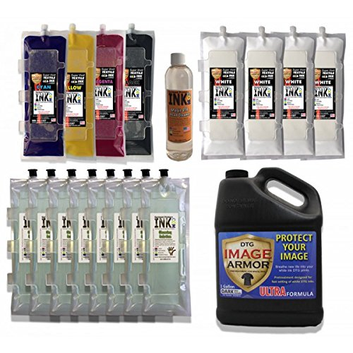 Anajet Sprint Image Armor Ink Bag Change-over Kit by Garment Printer Ink