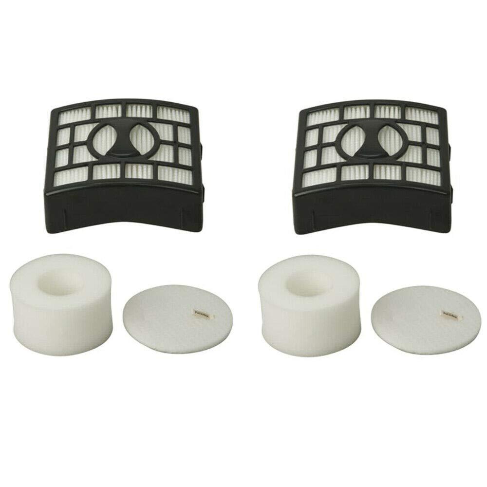 2 HEPA Foam & Felt Filter Kit Shark Rotator NV680 NV800 Series XHF680 XFF680 by Live Shop