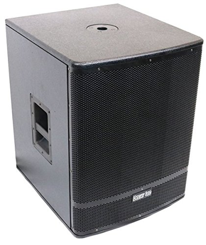 DEEJAY LED TBHEVM18PSUB 2500W Powered Sub, 18''