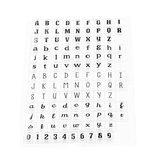 Alphabet Cling Stamp - 6