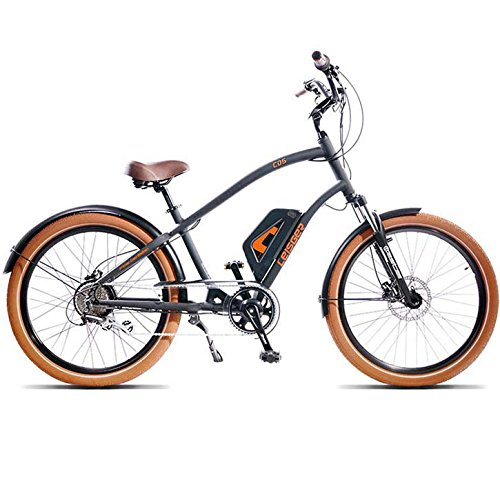 2016 Leisger CD5 Electric Cruiser Bike Black by Leisger Electric Bicycles B01ASARKEK