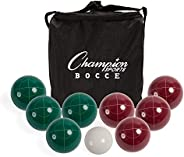 Champion Sports Bocce Ball Set: Tournament Series Classic Family, Party and Lawn Game