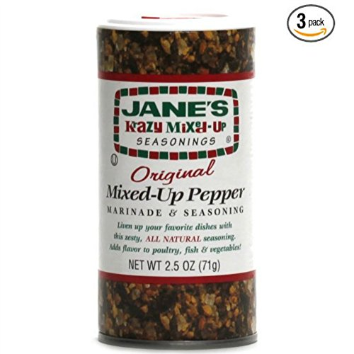 (Janes Krazy Mixed Up Pepper, 2.5 oz (Pack of 3))