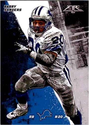 Chrome Barry Sanders - Football NFL 2015 Fire #69 Barry Sanders NM-MT Lions