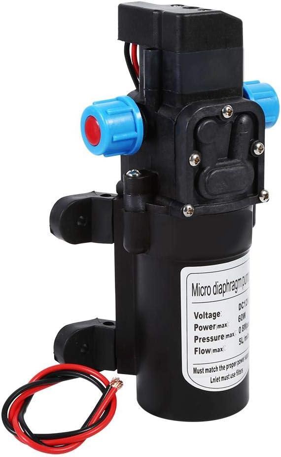 pompe /à eau haute pression 116 PSI pour lavage de voiture jardin irrigation 5 L//min. bateau nettoyage Pompe /à eau auto-amor/çante 12 V