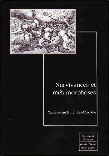 Livre Survivances et métamorphoses pdf