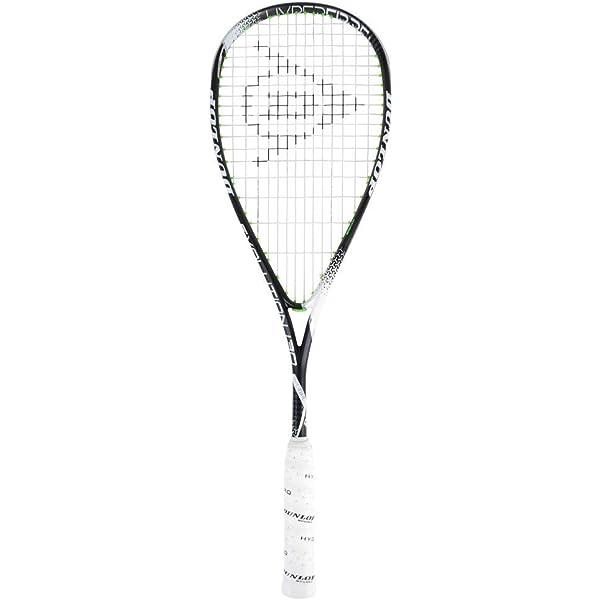 DUNLOP Biomimetic Evolution 130 Squash Racquet Black//Blue//Yellow