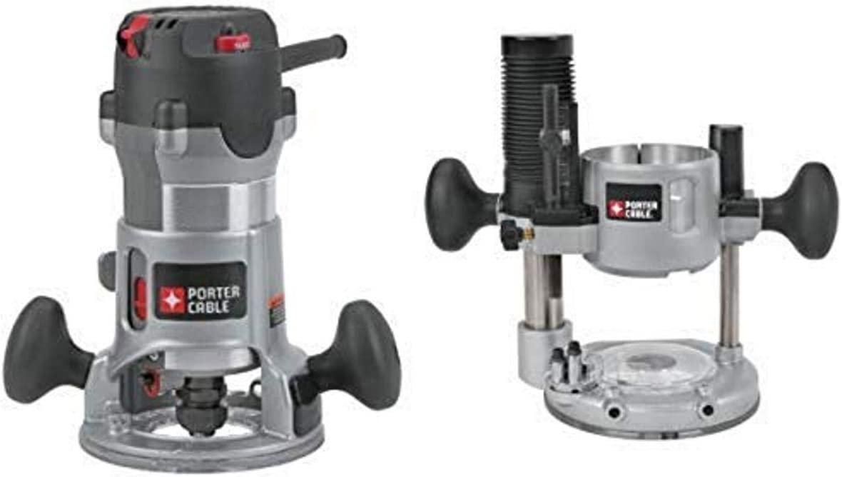 PORTER-CABLE 892 2-1/4-Horsepower Router with 8931 Plunge Router Base