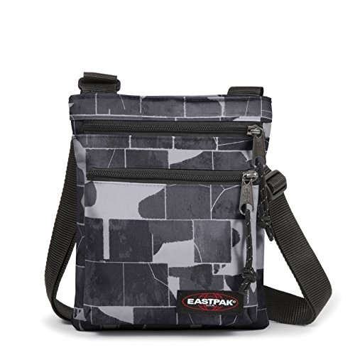 Rusher Gris Negro Cm Dark black Bolso Eastpak cracked Bandolera 23 BqwOnddax0