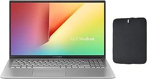 "Newest Asus VivoBook X512DA-BTS2020RL 15.6"" FHD Premium Laptop, AMD 2nd Gen Ryzen 5 3500U Quad-core Upto 3.7GHz, 8GB RAM, 512GB PCIe SSD, AMD Radeon Vega 8, Windows 10 + Woov Laptop Sleeve Bundle"