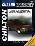 Subaru Coupes, Sedans, and Wagons, 1985-96, Chilton Automotive Editorial Staff, 0801987970