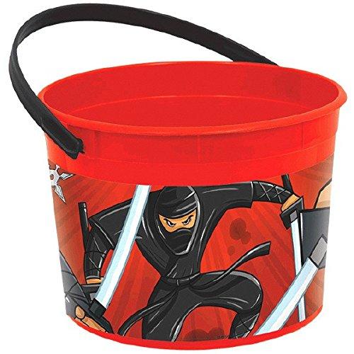 3-Cubo para interior de plástico rígido, Ninja Assassin ...