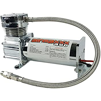 airmaxxx 400 Air Ride Suspension Compressor (chrome)