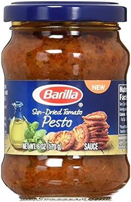 Barilla Sun Dried Tomato Pesto Sauce, 6 Ounce