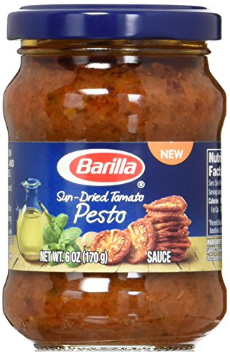 - Barilla Sun Dried Tomato Pesto Sauce, 6 Ounce (Pack of 8)