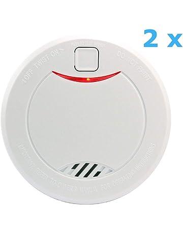 heiman 10 años Detector de humo (con indicador LED y fotoelektrischen Sensor – Color Blanco