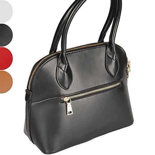 Jago Bolso shopper para mujer (diferentes colores a elegir) Negro