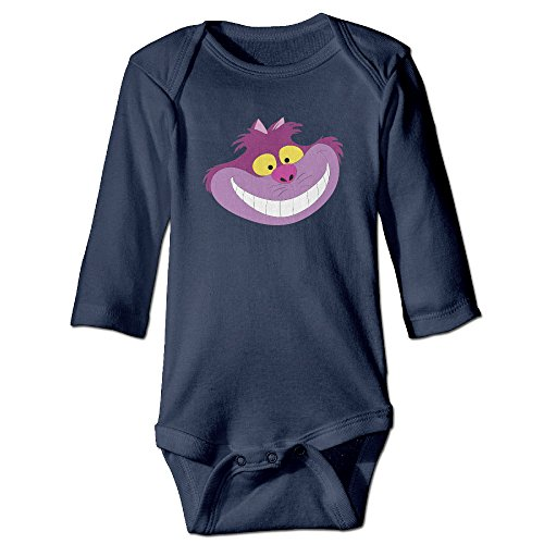 MEIJIXI Unisex Romper Infant Baby Climbing Clothes Alice Cheshire Cat Pinata Smile (Alice Pinata)