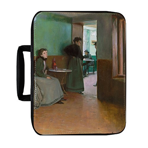 Interior Cafe In Spain (Santiago Rusinol) Insulated Lunch Box Bag by Style in Print