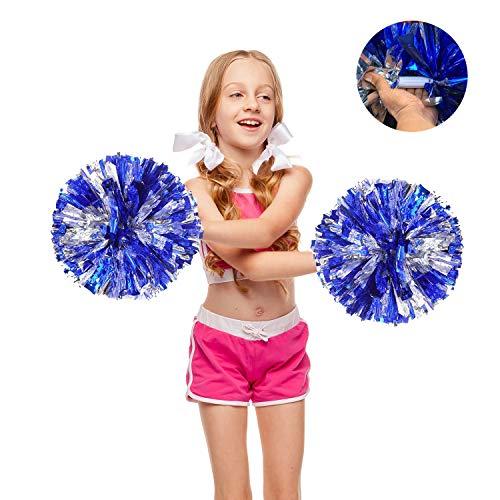 Juvale Sports Cheerleading Pom Poms 6 Pairs
