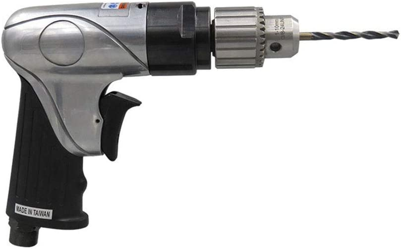 10mm Forward And Reverse Wind Drill Industrial Grade Wood Drill 3//8 Hand-held Pneumatic Drill