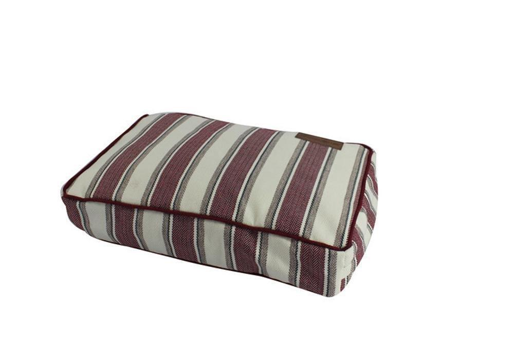 A YunYilian Pet Bolster Dog Bed Comfort Comfort Removable wash pet Square mat (color   B)
