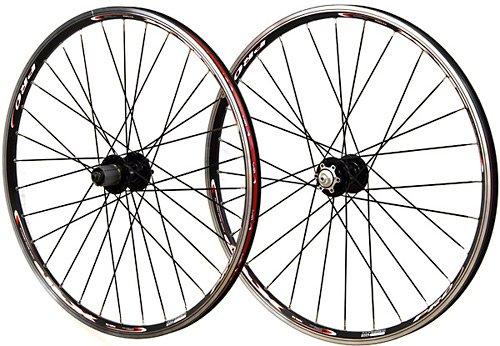 Set Rim Brake (Vuelta XRP Pro 26 inch 26in Mountain Bike Wheels Disc Rim Brake Wheel Set Black Shimano Compatible)