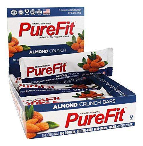 PureFit Crunch Bars - Almond - 2 oz - 15 ct