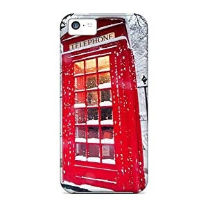 New Style Cases Covers QgE8853zWkR English Phone Booth Compatible With Iphone 5c Protection Cases