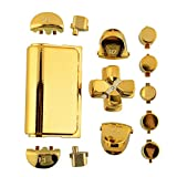 Cewaal Full Buttons Mod Kits Chrome Gold For Sony Playstation 4 PS4 Controller Gamepad Joystick Video Game Accessories