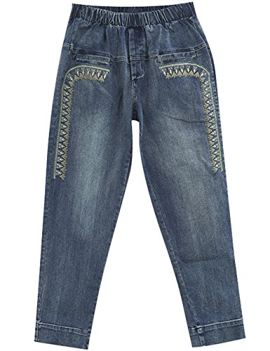 brods Taille Youlee elastique Jeans Femmes Printemps wcqWCnHpA4