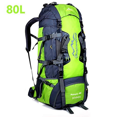 MYMM 50L/80L Trekkingrucksacke, Outdoor Wanderrucksäcke, ideal für Sport im Freien, Wandern, Trekking, Camping Reisen…
