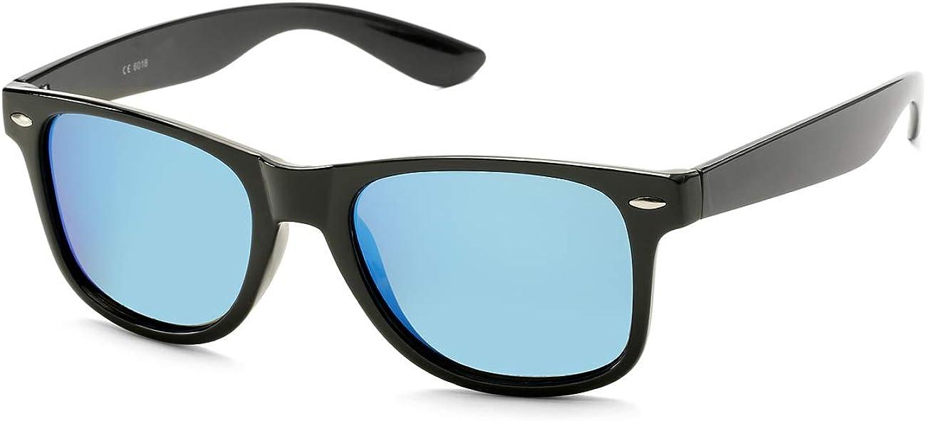 BOURYO Retro Polarized Sunglasses for Men Women Brand Designer Square UV400 Lens Sun Glasses