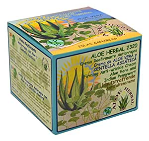 Aloe Herbal 2320 Crema reafirmante antiarrugas con Aloe Vera y Centella Asiática 200ml