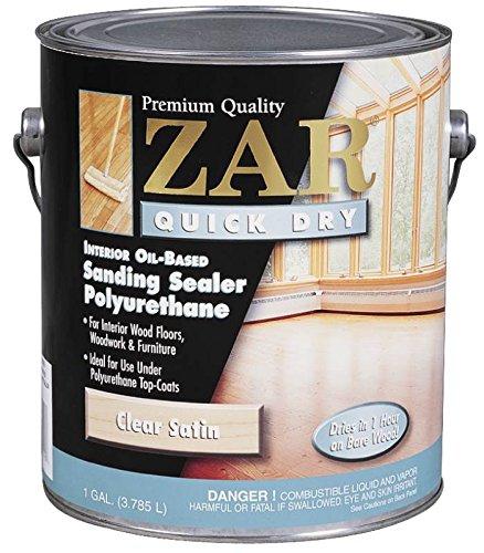ZAR 26213 Quick Dry Polyurethane Sanding-Sealer, Satin ~ ...
