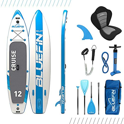 Bluefin SUP Stand Up Inflatable Paddle Board with Kayak...